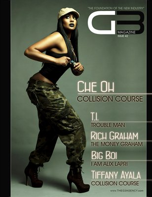 G3 Magazine Issue 42 (Che' Oh Cover)