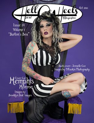 "Hell on Heels Magazine Issue #34 Vol.1 ""Burton's Box"" Oct 2016"