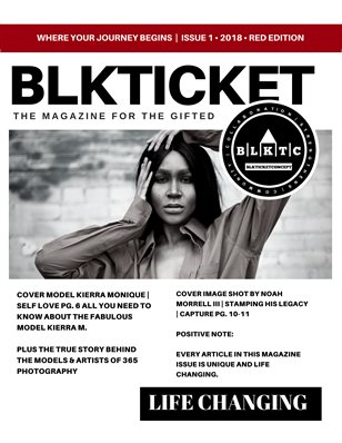 BLKTICKET ISSUE 01 - 2018 - RED EDITION