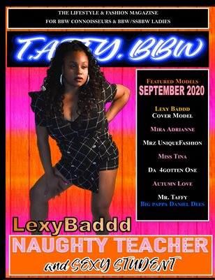 T.A.F.F.Y. BBW MAGAZINE - Naughty Teacher & Sexy Student September 2020 Vol. 2
