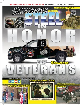 Southern Steel Motorcycle & Car Magazine November 2014