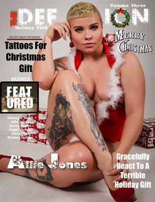TDM Allie Jones Xmas Issue 3 cover1