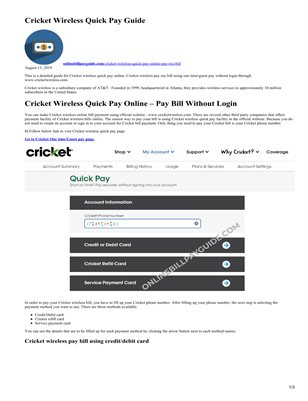 Cricket Magcloud