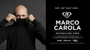 Dj Superstar 2018   Marco Carola c/o Spiaggia del Faro