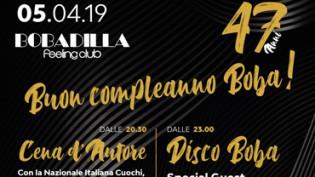 47° compleanno by discoteca Bobadilla!