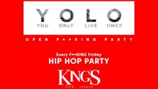 Yolo, Hip Hop Party @ discoteca King's Jesolo
