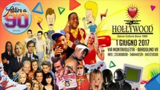 Febbre a 90 @ discoteca Hollywood