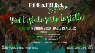 Venerdì Sera Bobadilla Estivo 2020 @ Villa Castelbarco