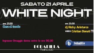 White night alla discoteca Bobadilla