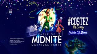 Carnevale 2019 alla discoteca Nikita