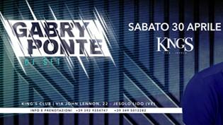 Gabry Ponte @ discoteca King's Club Jesolo