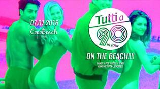 Tutti a 90 on the Beach @ Cocobeach