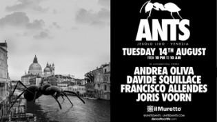 Il Muretto presenta: ANTS   Maratona d'Estate 2018