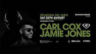 Superstar Dj '19 Carl Cox & Jamie Jones Spiaggia del Faro