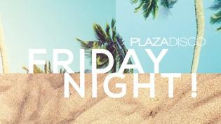 Alla discoteca Plaza!