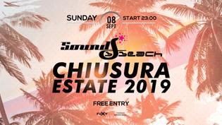 Chiusura Estate 2019 • Sound Beach Jesolo