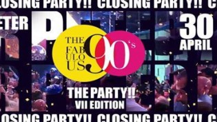 The Fabulous 90's • Peter Closing Party