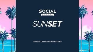 Sunset @ Social Club, Brescia!