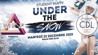 UNDER THE SNOW, Whoop Party @ Centrale del Latte Loves Cilindro