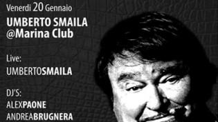 Umberto Smaila @ discoteca con ristorante Marina Club!