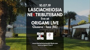 Lasciacheiosia Nek Tribute band at Origami Iseo