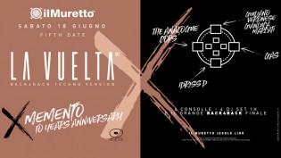 La Vuelta for Memento @ discoteca Il Muretto