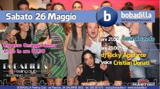 Saturday Dancework alla discoteca Bobadilla