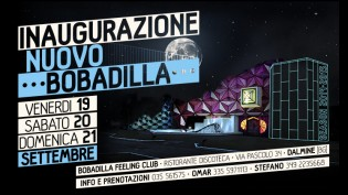 Inaugurazione Bobadilla