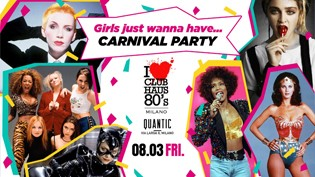 Carnevale 2019 by Club Haus 80's c/o QUANTIC