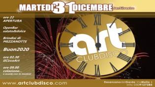 Capodanno 2020 @ discoteca Art Club Disco Musical Theatre