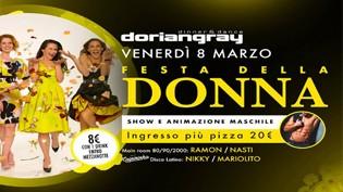 Festa della Donna 2019 @ discoteca Dorian Gray