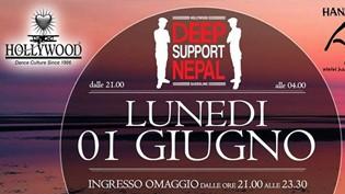 Deep Support Nepal @ discoteca Hollywood Dance Club