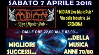 La Magica Notte Dei Ricordi - Disco Dance 70/80 at Midian!
