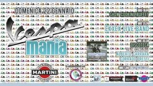 Vespa Mania alla discoteca Bobadilla