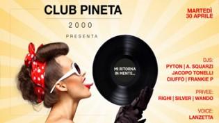 Club Pineta 2000 presenta Mi ritorna in mente