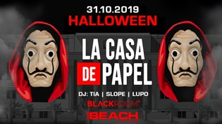 Halloween 2019 @ discoteca The Beach