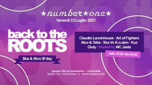 Back to the Roots - Ska & Nico B'day @ Number one