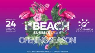 Beach Opening season c/o lido Garda