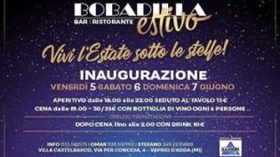 Sabato sera Bobadilla Estivo 2020 @ Villa Castelbarco a Vaprio D'Adda