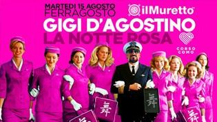 Gigi D'Agostino @ Il Muretto, La Notte Rosa