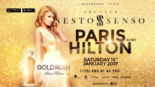 Sesto Senso The Club: Paris Hilton Dj Set