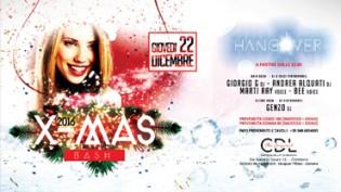 Hangover X-MAS BASH @ discoteca CDL a Cremona