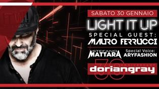Mauro Ferrucci @ discoteca Dorian Gray