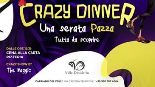 Crazy dinner a Villa Desiderio