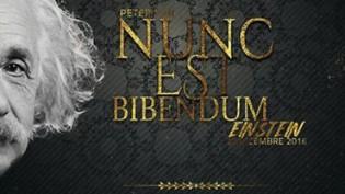 Nunc Est Bibendum Einstein @ Peter Pan
