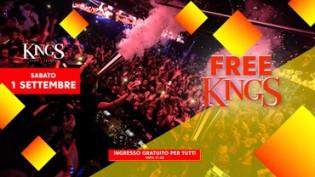 Free King's - Ingresso Omaggio per tutti