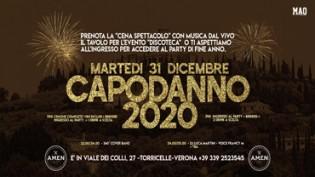 Capodanno 2020 @ Amen Verona