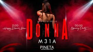 Festa della Donna 2020 alla discoteca Pineta