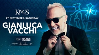 King's ospita Gianluca Vacchi a Jesolo