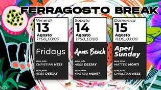 Ferragosto by Capannina Beach Jesolo!